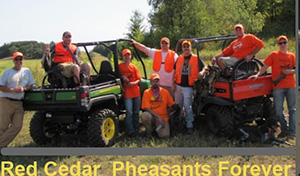 Red Ceadr Pheasants Forever